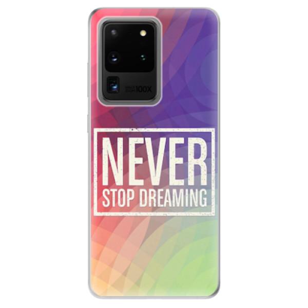 Odolné silikonové pouzdro iSaprio - Dreaming - Samsung Galaxy S20 Ultra