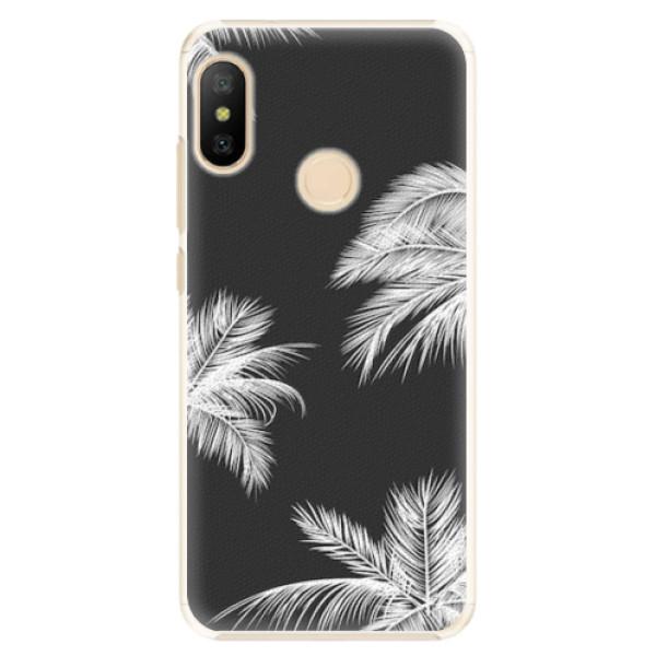 Plastové pouzdro iSaprio - White Palm - Xiaomi Mi A2 Lite