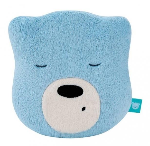 Mini šumící Medvídek - hlava - modrá