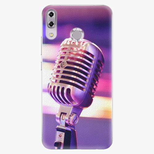 Plastový kryt iSaprio - Vintage Microphone - Asus ZenFone 5Z ZS620KL