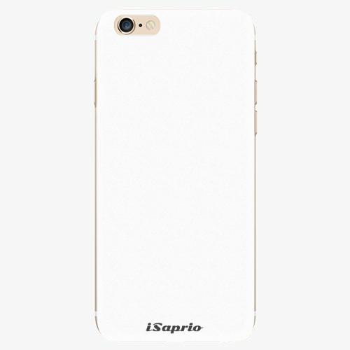 Silikonové pouzdro iSaprio - 4Pure - bílý - iPhone 6/6S