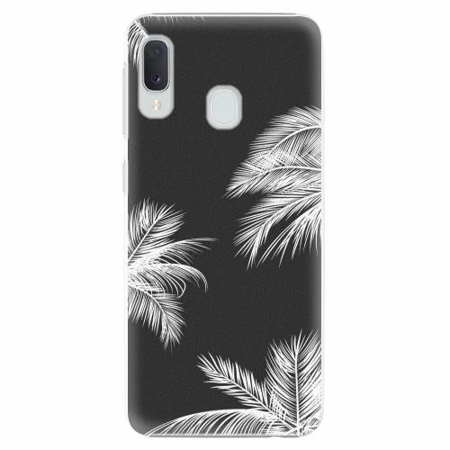 Plastový kryt iSaprio - White Palm - Samsung Galaxy A20e