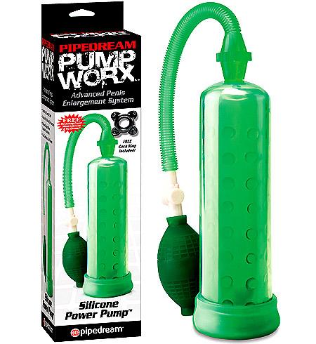 Vakuová pumpa zelená Pump Worx