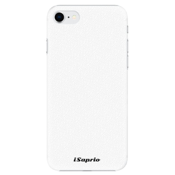 Plastové pouzdro iSaprio - 4Pure - bílý - iPhone SE 2020