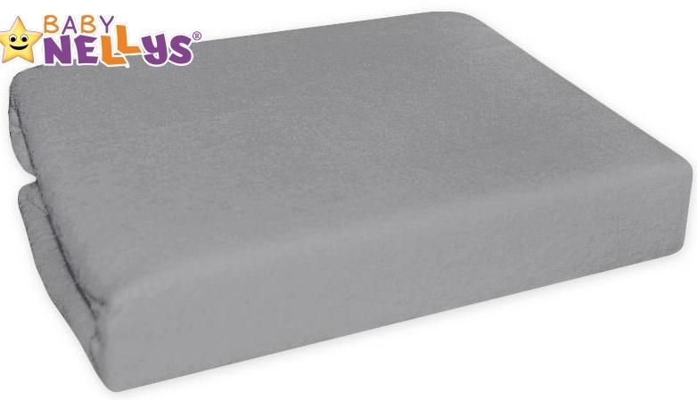 Nepromokavé prostěradlo 120x60cm - šedé - 120x60