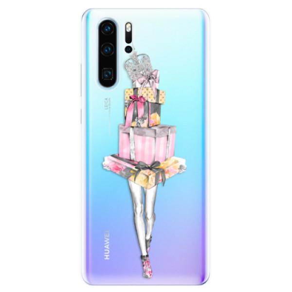Odolné silikonové pouzdro iSaprio - Queen of Shopping - Huawei P30 Pro