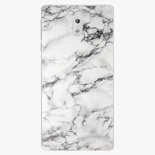 Plastový kryt iSaprio - White Marble 01 - Nokia 3
