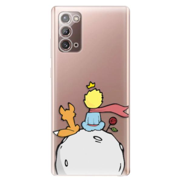 Odolné silikonové pouzdro iSaprio - Prince - Samsung Galaxy Note 20