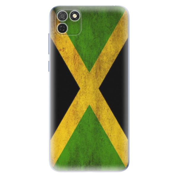 Odolné silikonové pouzdro iSaprio - Flag of Jamaica - Honor 9S