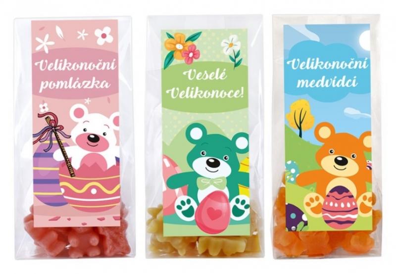 Medvídkový čaj - Velikonoční balíček střední 3 x 50g