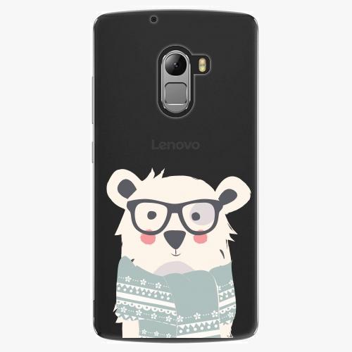 Plastový kryt iSaprio - Bear With Scarf - Lenovo A7010