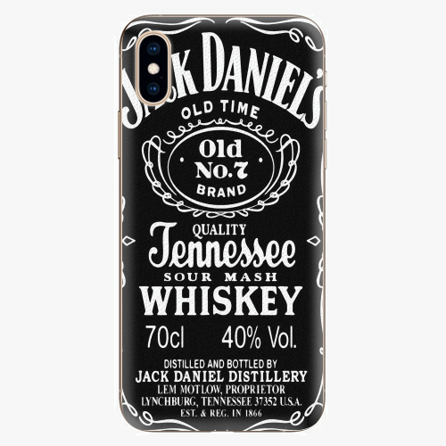 Plastový kryt iSaprio - Jack Daniels - iPhone XS