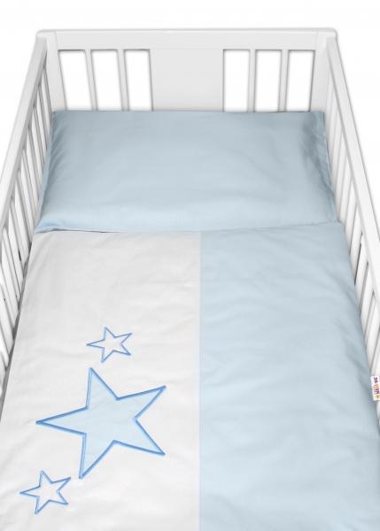 Baby Nellys Povlečení do postýlky Baby Stars
