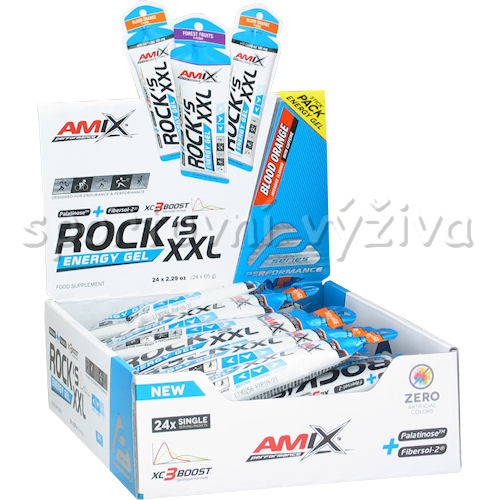 24x Rocks Energy Gel XXL with caffeine 65g