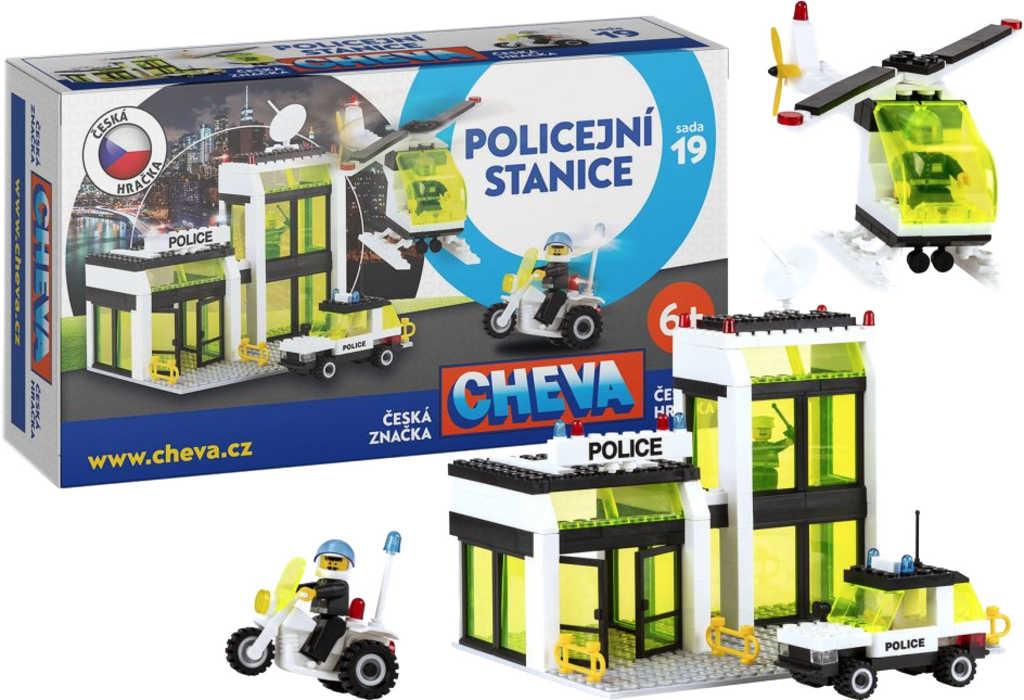 CHEMOPLAST CHEVA 19 Policejní stanice * Stavebnice *