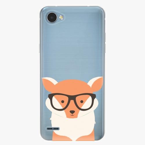 Plastový kryt iSaprio - Orange Fox - LG Q6