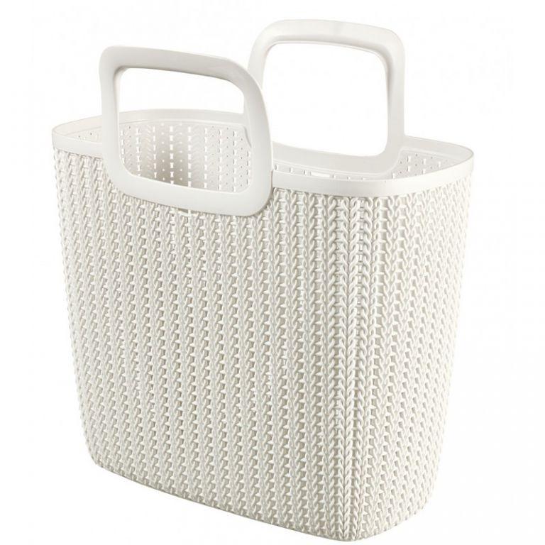 Nákupní taška KNIT - krémová CURVER