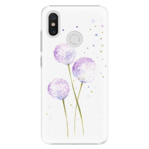 Plastové pouzdro iSaprio - Dandelion - Xiaomi Mi 8