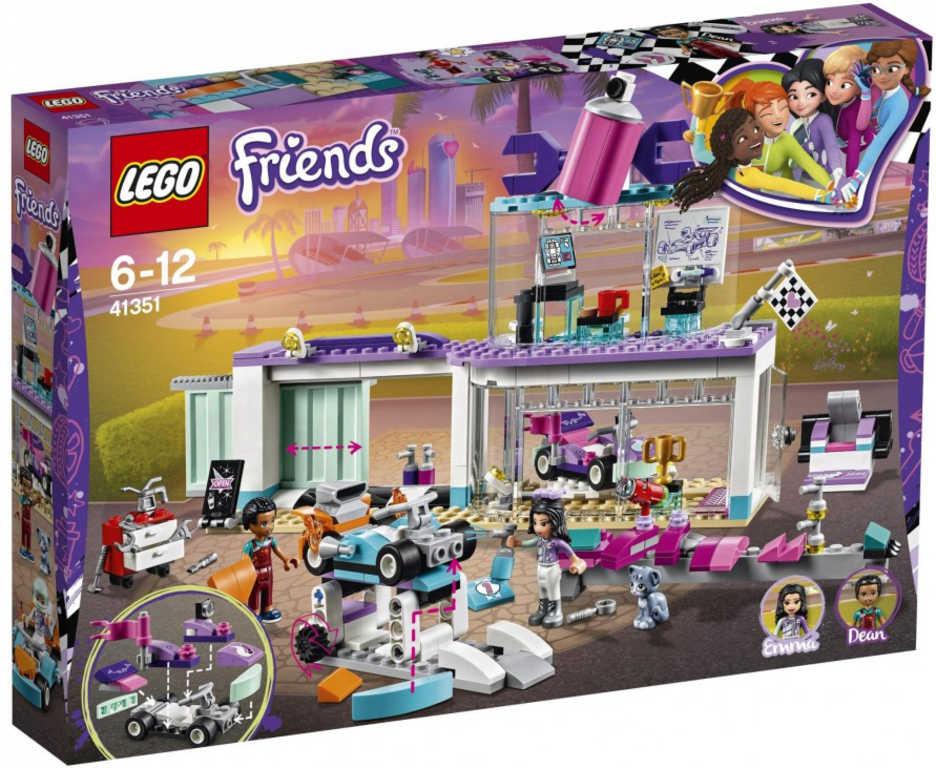 LEGO FRIENDS Tuningová dílna 41351 STAVEBNICE