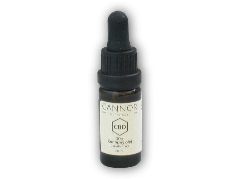 CBD konopný olej 10% 10ml