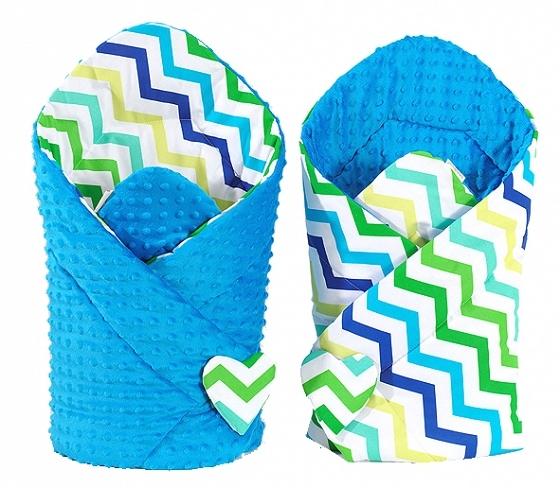 mamo-tato-oboustranna-zavinovacka-minky-baby-zigzag-modro-zeleny-modra