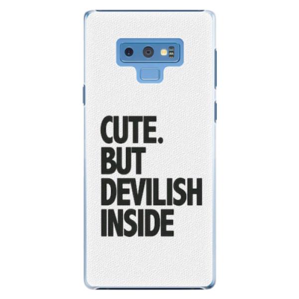 Plastové pouzdro iSaprio - Devilish inside - Samsung Galaxy Note 9