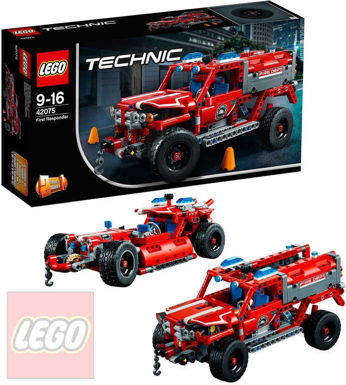 LEGO TECHNIC Záchranné auto 2v1 STAVEBNICE 42075