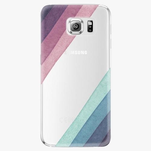 Plastový kryt iSaprio - Glitter Stripes 01 - Samsung Galaxy S6 Edge Plus