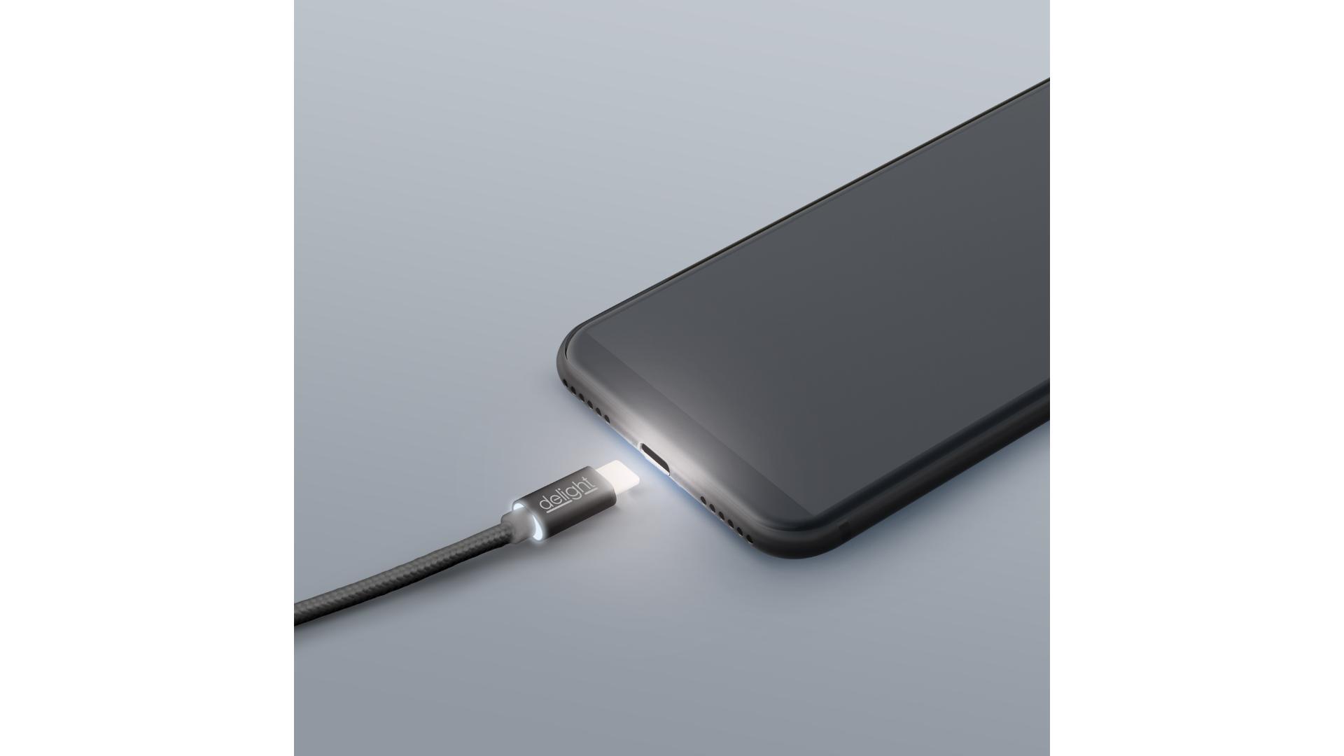 DELIGHT Datový kabel - USB Typ - C