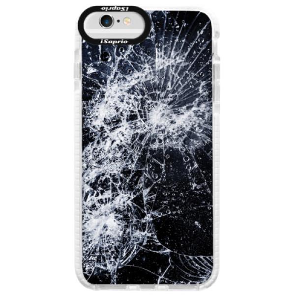 Silikonové pouzdro Bumper iSaprio - Cracked - iPhone 6/6S