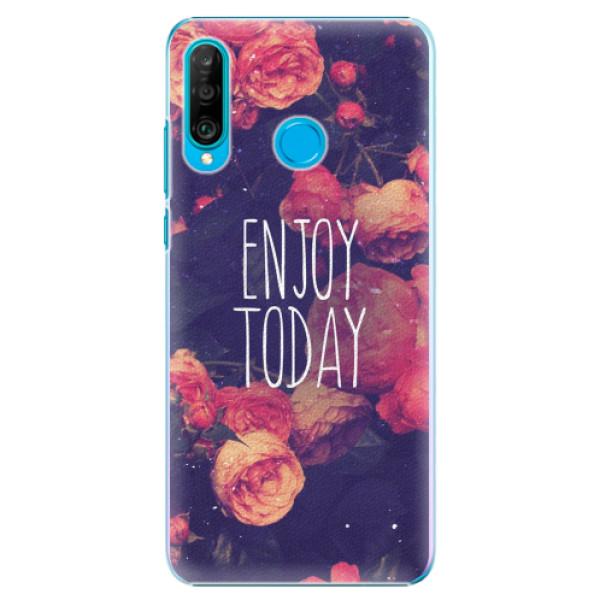 Plastové pouzdro iSaprio - Enjoy Today - Huawei P30 Lite