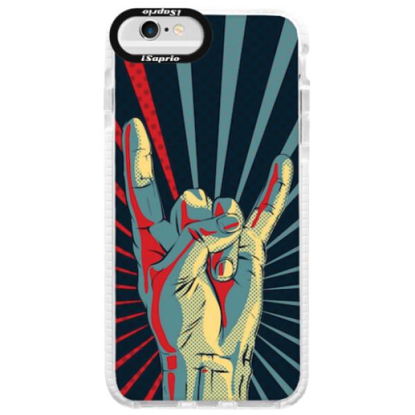 Silikonové pouzdro Bumper iSaprio - Rock - iPhone 6 Plus/6S Plus