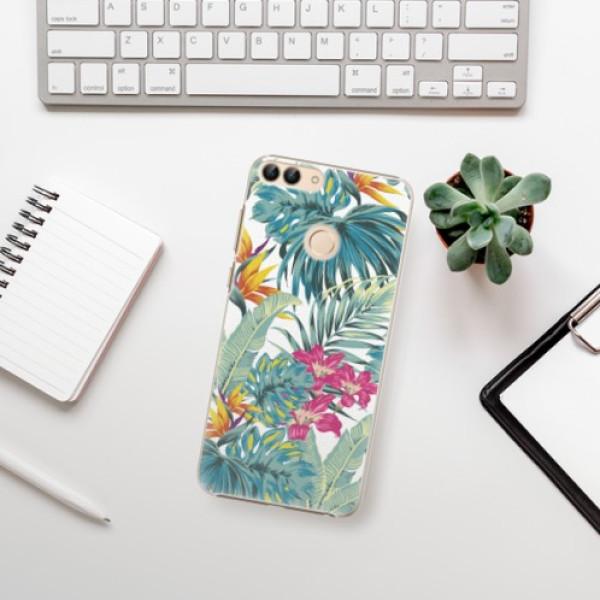 Plastové pouzdro iSaprio - Tropical White 03 - Huawei P Smart