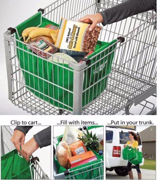 Nákupní taška do košíku