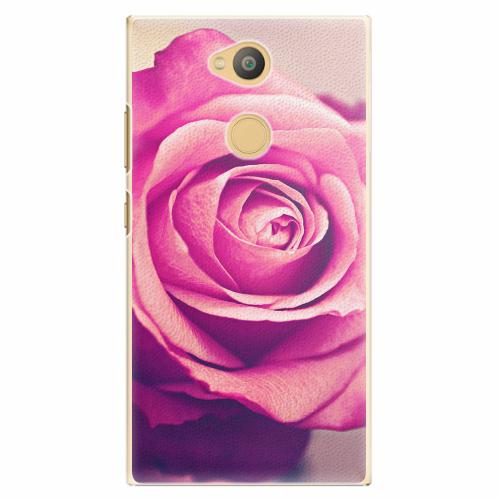 Plastový kryt iSaprio - Pink Rose - Sony Xperia L2