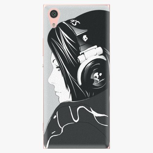 Plastový kryt iSaprio - Headphones - Sony Xperia XA1