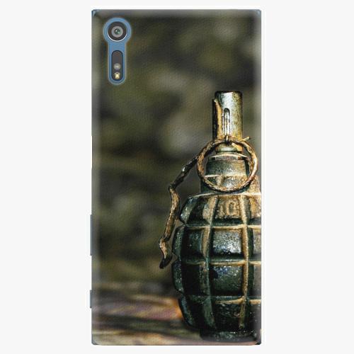 Plastový kryt iSaprio - Grenade - Sony Xperia XZ