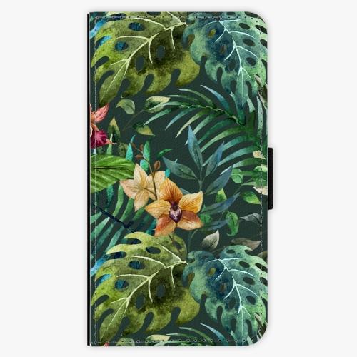 Flipové pouzdro iSaprio - Tropical Green 02 - Samsung Galaxy J5 2016