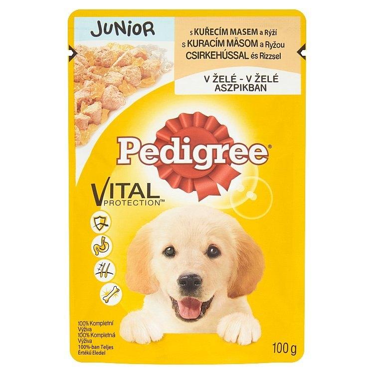 Vital Protection Junior kapsička kuřecí s rýží v želé 100 g