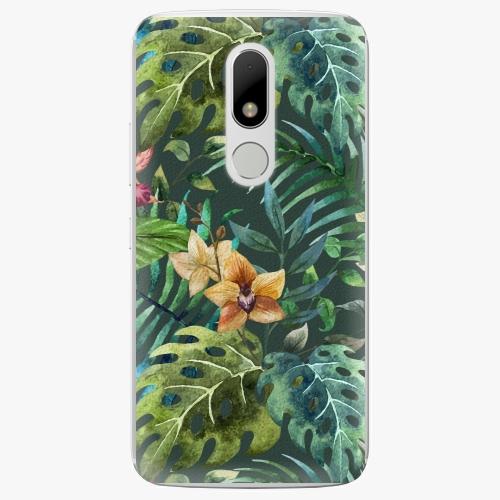 Plastový kryt iSaprio - Tropical Green 02 - Lenovo Moto M