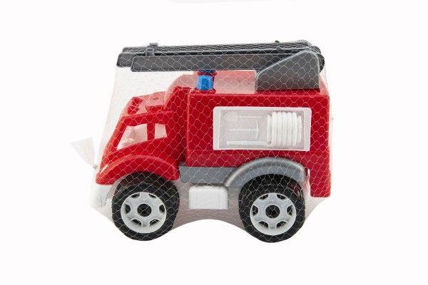Plastové hasičské auto 19x23x30 cm, od 3 let