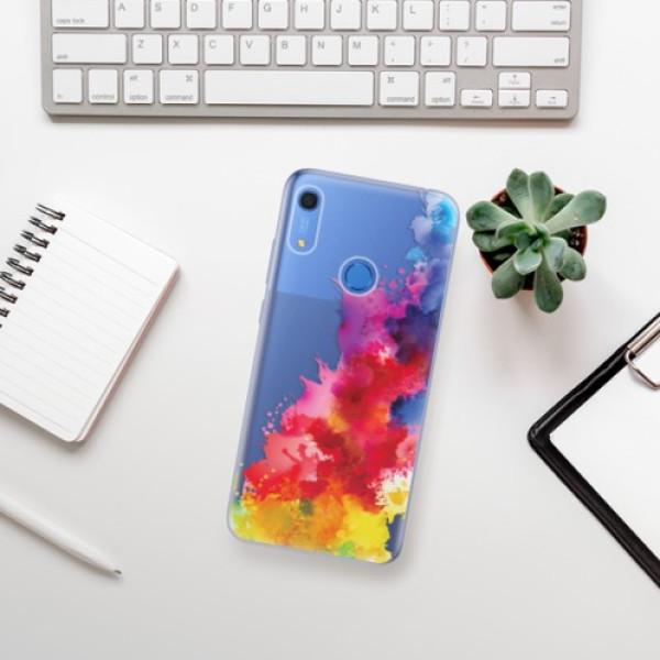 Odolné silikonové pouzdro iSaprio - Color Splash 01 - Huawei Y6s
