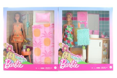 Barbie Pokoj a panenka GTD87