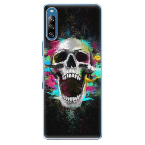 Plastové pouzdro iSaprio - Skull in Colors - Sony Xperia L4