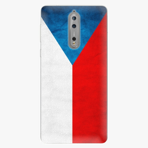 Plastový kryt iSaprio - Czech Flag - Nokia 8