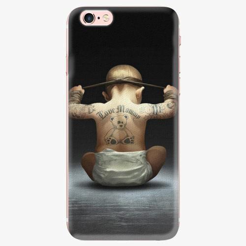 Silikonové pouzdro iSaprio - Crazy Baby - iPhone 7