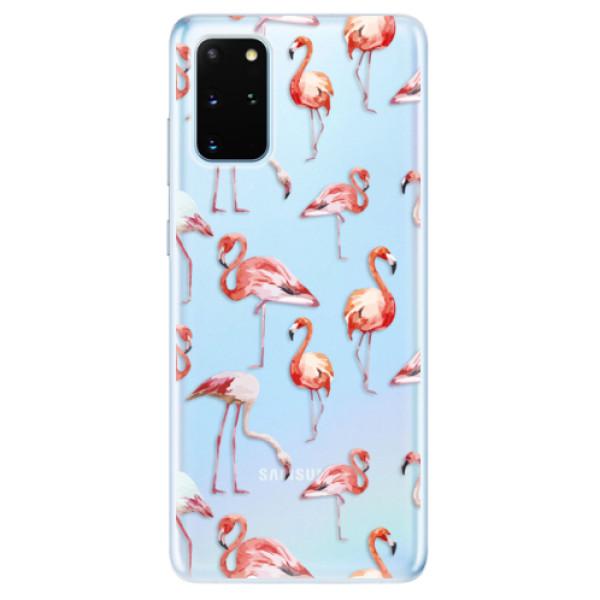 Odolné silikonové pouzdro iSaprio - Flami Pattern 01 - Samsung Galaxy S20+