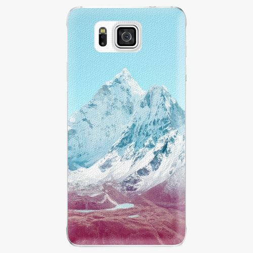 Plastový kryt iSaprio - Highest Mountains 01 - Samsung Galaxy Alpha