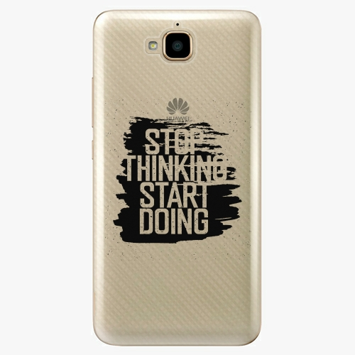 Plastový kryt iSaprio - Start Doing - Huawei Y6 Pro