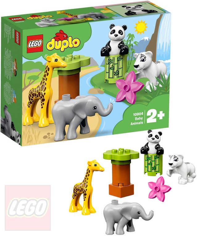 LEGO DUPLO Zvířecí mláďátka 10904 STAVEBNICE